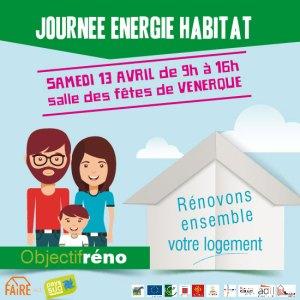 Clim&Chauff participe à la Journée Energie Habitat Venerque 13 Avril 2019