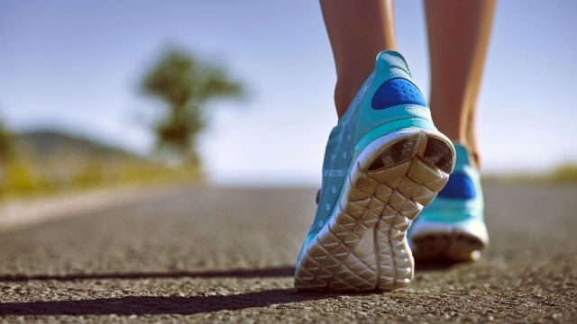 running for getting flat tummy quickly