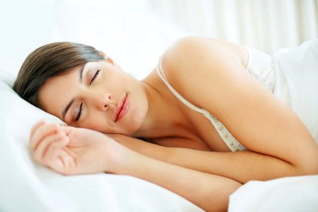 sleeping for getting flat tummy
