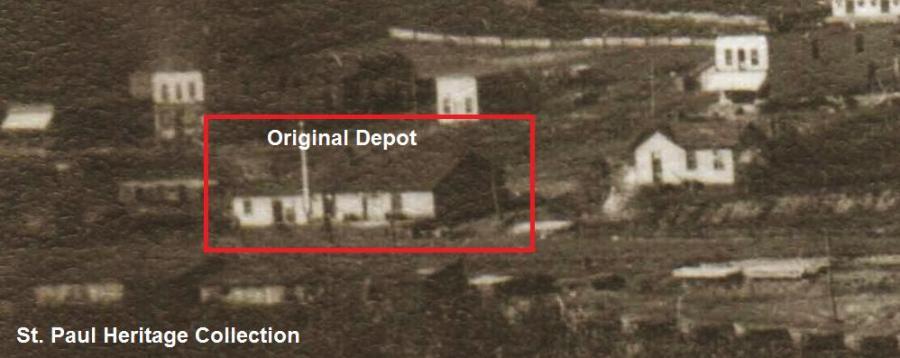 St. Paul VA Union Depot Circa 1905