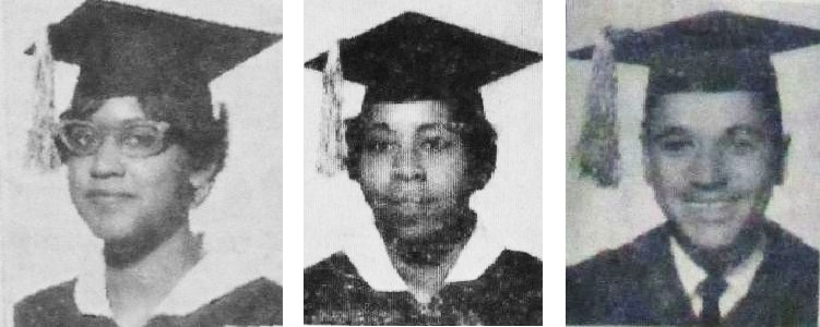 Claudette Cain, Loretta Saunders, Alfred Hicks