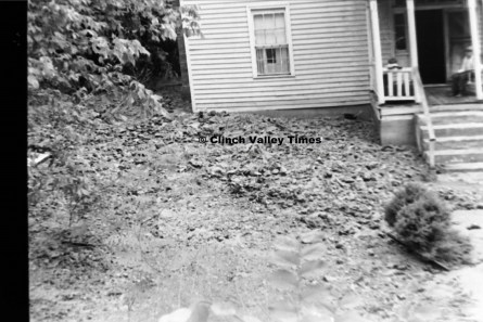 July 1, 1971 (22) mudslide at Will Kennedy house