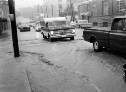 June 24, 1971 (34) Fourth Ave. Flooded