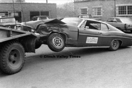 Sept. 10, 17, 24, 1970 (78) Jimmie Tompkins wreck