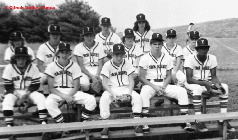 Clinch River Little League Yankees 1