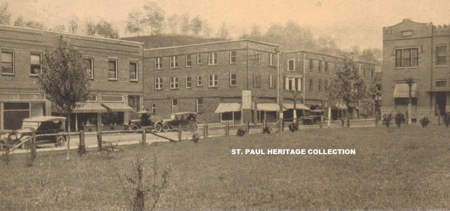 Fourth Ave. 1920s Chub Bolton postcard
