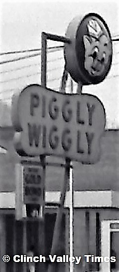 Piggly Wiggly Sign 1971