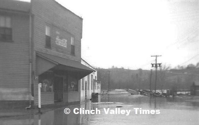 Vance's Restaurant 1957