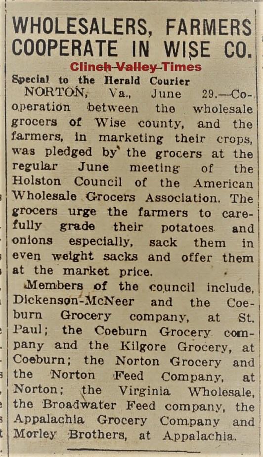 Bristol Herald Courier June 30, 1933