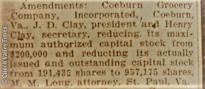 Daily_Press_Sun__Jan_25__1931_COEBURN GROCERY - CAPT. STOCK REDUCTION
