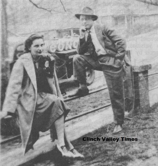 Margaret Bolton & George Coleman ca. 1940