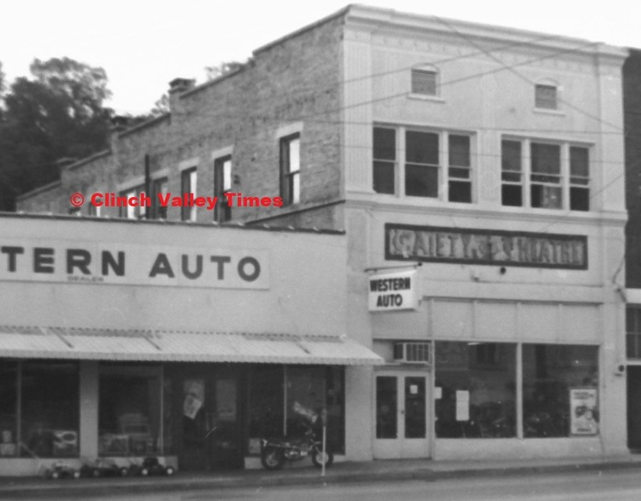 Western Auto, Gaiety Theatre, Lays Hardware 1971