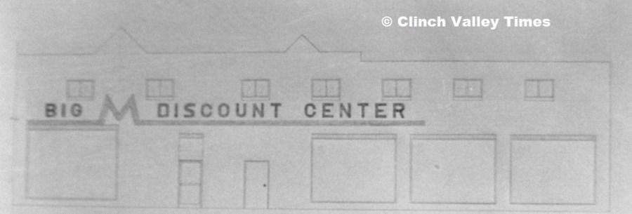 Big M Discount Center signage 1971 a