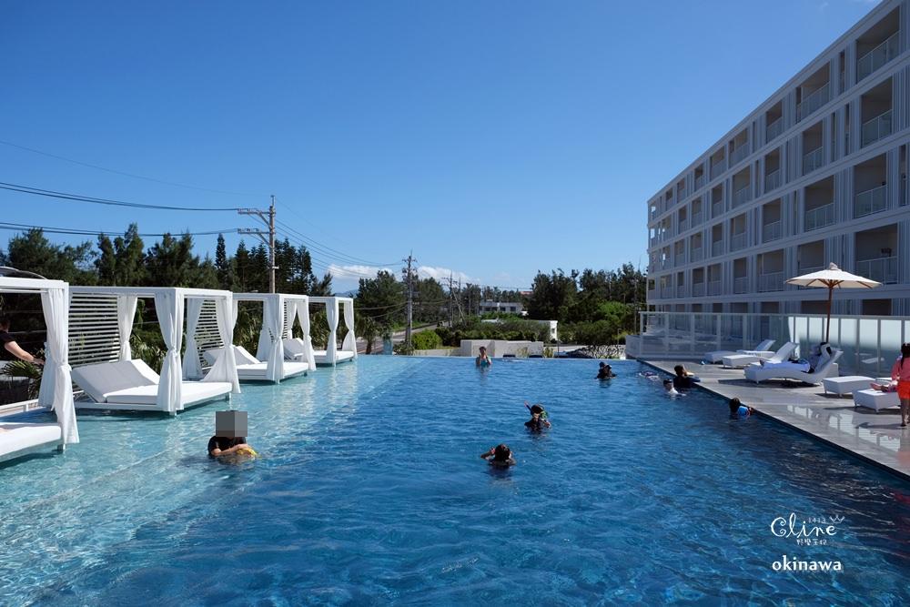 ▌沖繩海景飯店推薦▌無邊際泳池 【LOISIR Living Suites SERAGAKI】2019年7月新開幕