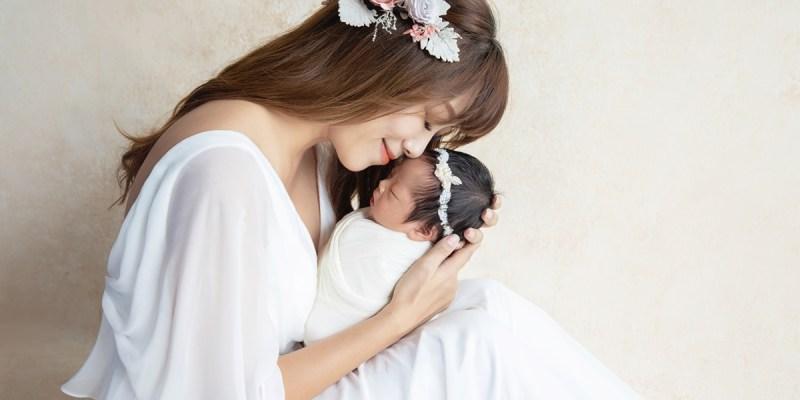 小珍珠夢幻新生兒寫真。親愛的莉絲新生兒攝影Katie Cloris Photography