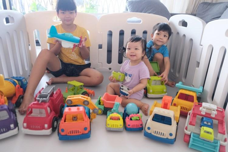 ▎團購▎讓男孩們瘋狂的美國B.toys 副牌Wonder Wheels玩具車。Driven系列工程車。Radio Flyer 系列車款