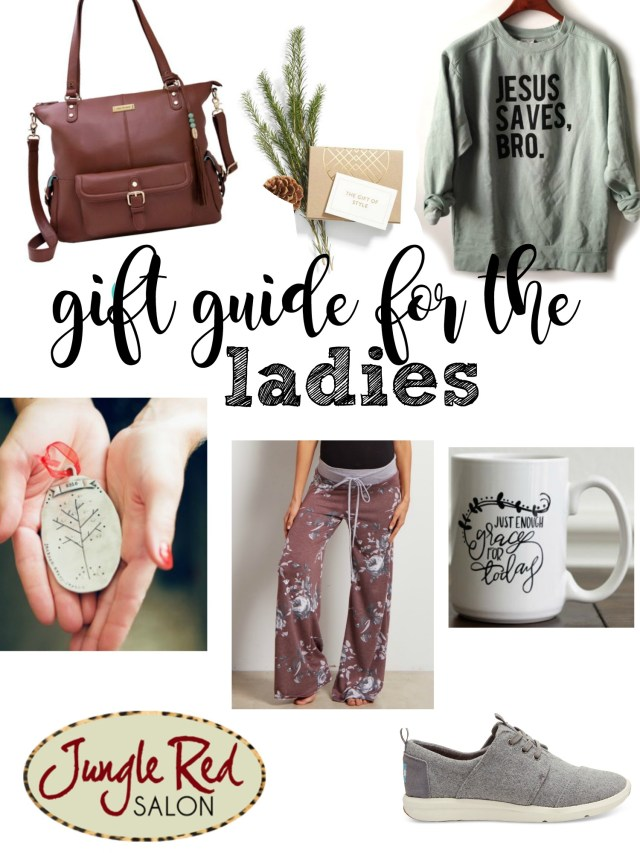 gift guide for the ladies