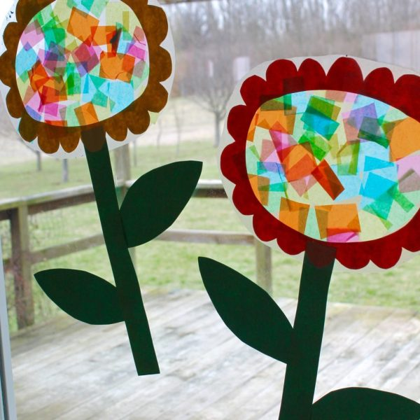 flower sun catcher