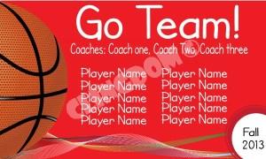 Go-Team-Sport-Basketball-Red