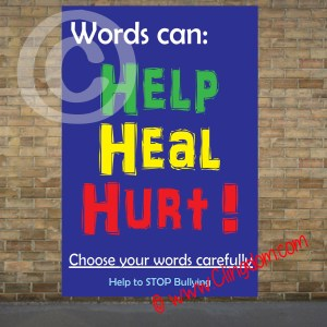words can help heal hurt