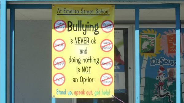 Bullying never ok