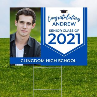 Personalized Grad Signs