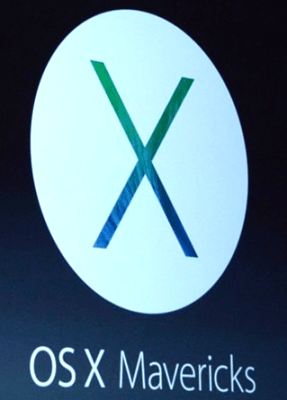 Mac OS X 10.9 Mavericks Logo