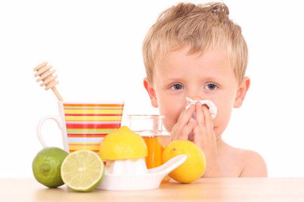 Neumonía sin temperatura en un niño.