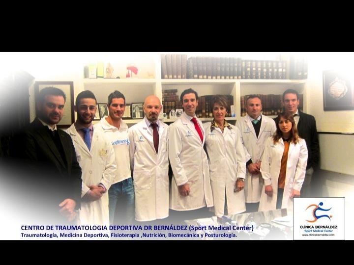 EQUIPO SPORTME CLINICA BERNALDEZ www.clinicabernaldez.com