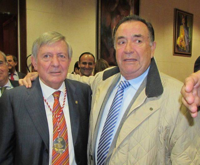 DRS RUIZ DEL PORTAL Y BERNALDEZ EL ABRAZO DE 2 AMIGOS 70•º SEMINARIO SATO SEVILLA NOV 2014