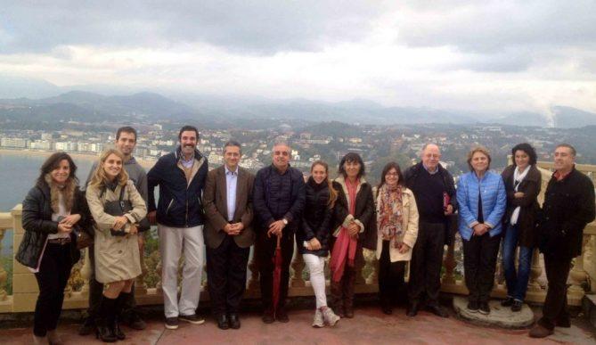Profesores VII Curso Eco MSK Monte Igueldo San Sebastian Oct 2015