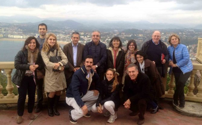 Profesores VII Curso Eco MSK Monte Igeldo San Sebastian Oct 2015.
