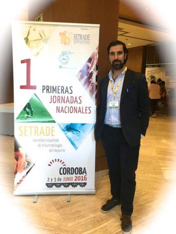 I JORNADAS NACIONALES TRAUMA DEPORTIVA CORDOBA DR BERNALDEZ