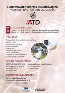 II Jornada de Terapias Regenerativas de la Asociación Argentina de Traumatología del Deporte