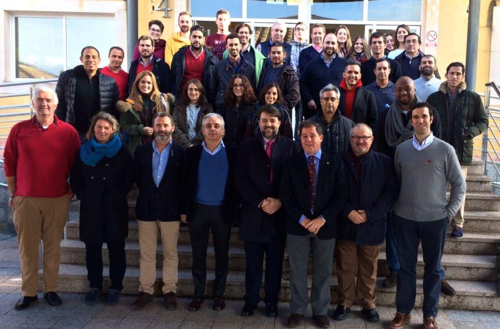 Profesores y Alumnos del Curso Eco MSK