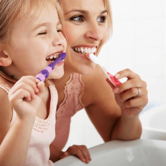 ¿Cual es la técnica del lavado de dientes?