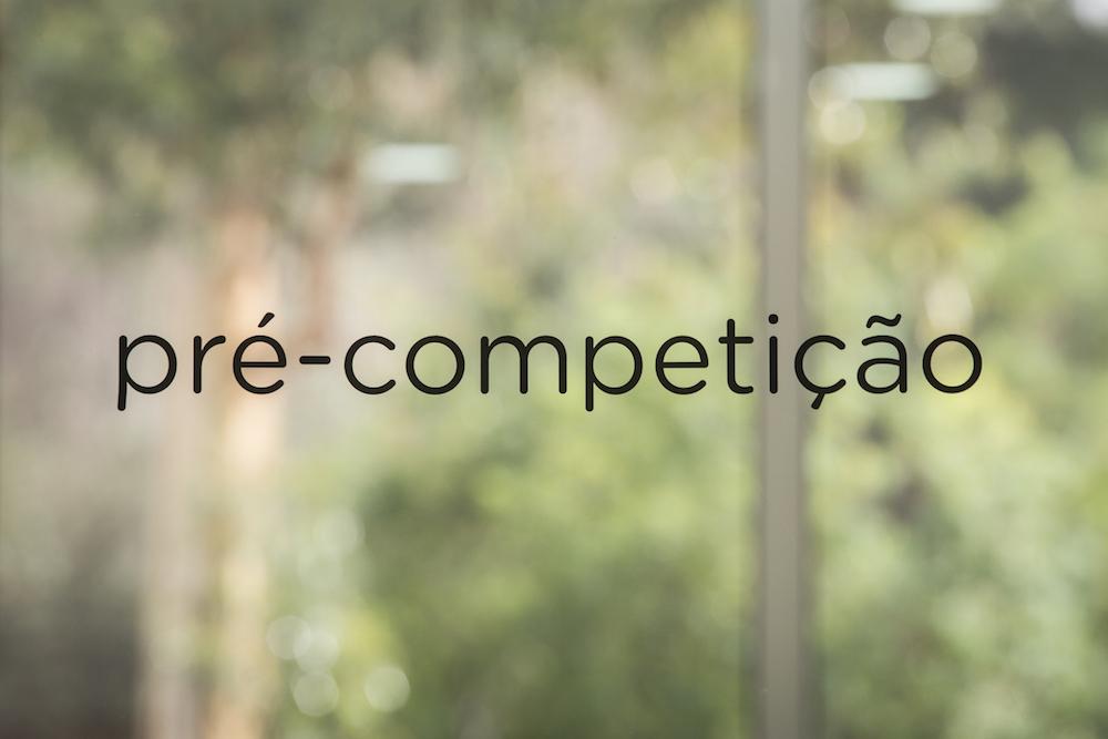 Treino de Pré Competição