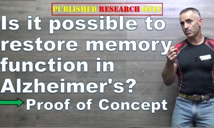 Is it possible to restore memory function in Alzheimer's?