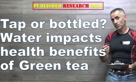 Tap or bottled? Water impacts health benefits Green tea