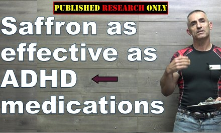 Saffron as effective as stimulant medicines in treating ADHD
