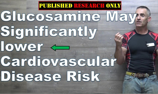 Glucosamine may be linked to lower risk of cardiovascular disease
