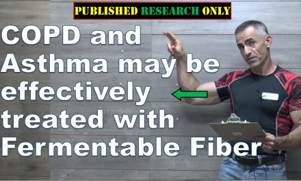 COPD and Asthma may be effectively treated with Fermentable Fiber