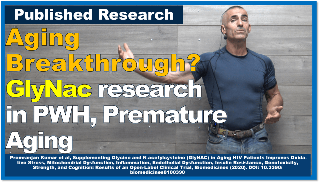 Aging Breakthrough? GlyNac research into PWH, Premature Aging
