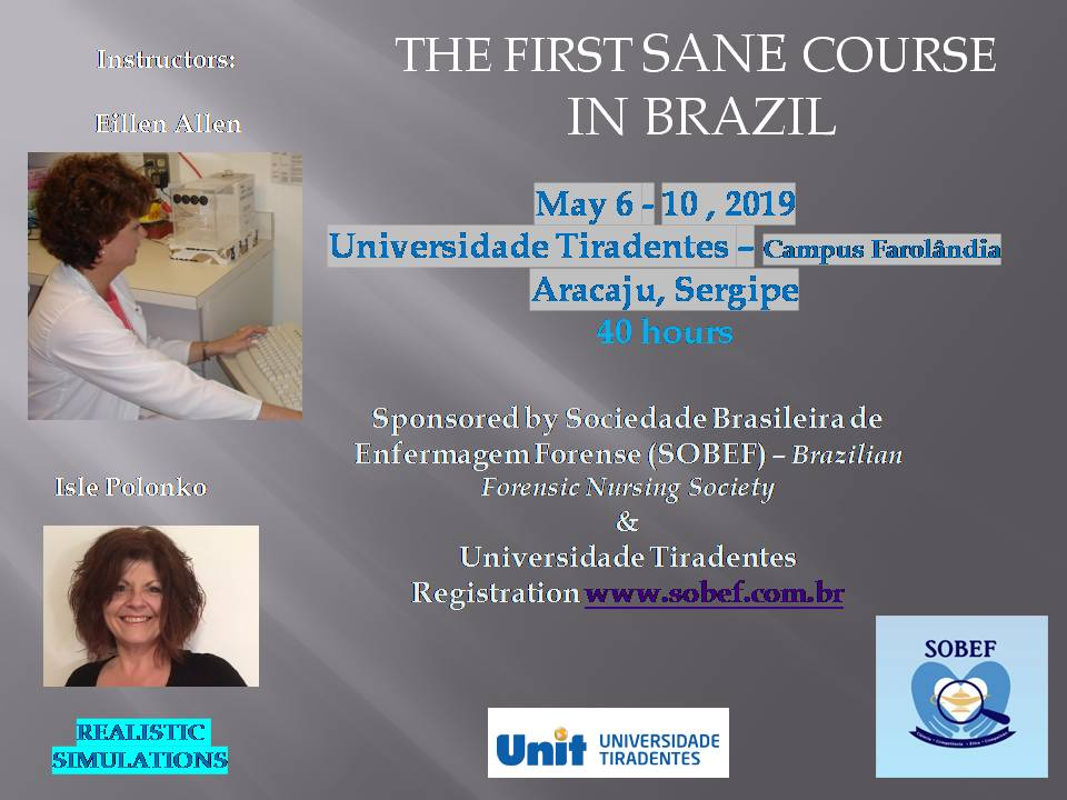 First Ever Sexual Assault Nurse Examiner Program And Forensic Gta Program In Brazil Clinical Practice Resources
