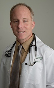Jay Shubrook, D.O. Department of Family Medicine Ohio University Heritage College of Osteopathic Medicine // Photo by Ben Siegel