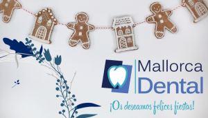 Felices fiestas desde Mallorca Dental
