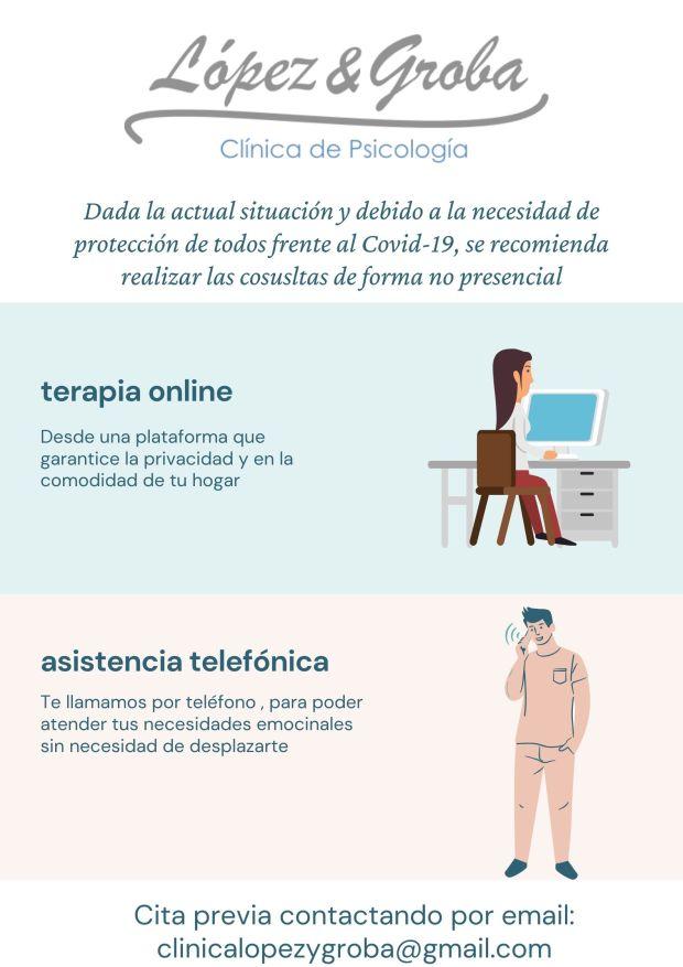 teleasistencia Clinica Psicologia Lopez y Groba