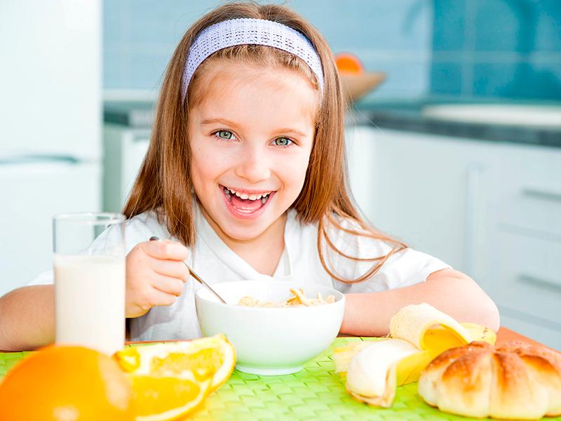 Consumo de leche en niños