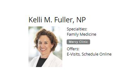 Kelli M. Fuller, NP