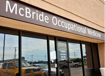 Mcbride Clinic occupational Medicine- West